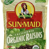 Organic Sun Dried California Raisins (1 Resealable Bag) by Sun Maid