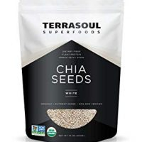 Terrasoul Superfoods Organic White Chia Seeds, 1 Pound