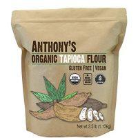 Organic Tapioca Flour/Starch (2.5lbs) by Anthony's, Gluten-Free & Non-GMO