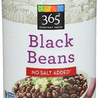 Black Beans No Salt Added, 15 Ounce