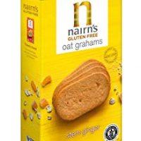 Nairn's Gluten Free Oat Grahams, Stem Ginger, 5.64oz