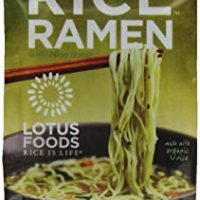 Lotus Foods Gourmet Jade Pearl Rice Ramen and Miso Soup, Lower Sodium, 10 Count