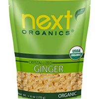 Next Organics Dried Crystallized Ginger 6 Ounce
