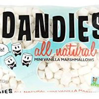 Dandies - Minis - Vegan Marshmallows, Vanilla, 10 Ounce (Pack of 2)