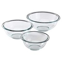 Glass Mixing Bowl Set (3-Piece)