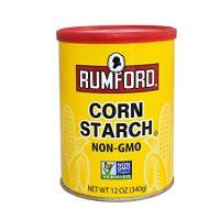 Rumford Corn Starch - Gluten Free, Non-GMO, Thickener for Sauce, Soup, Gravy, Vegan, Vegetarian, Resealable Can - 12 oz (1)