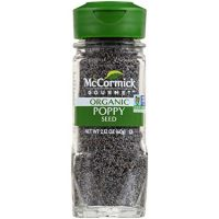 McCormick Gourmet Organic Poppy Seed, 2.12 oz