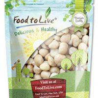Food to Live Macadamia Nuts (Raw, Kosher) (8 Ounces)