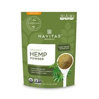 Navitas Organics Hemp Powder, 12 oz. Bag — Organic, Non-GMO, Cold-Pressed, Gluten-Free