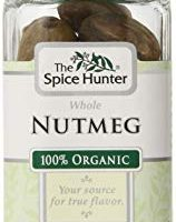 The Spice Hunter Organic Nutmeg, Whole, 1.8 oz. jar