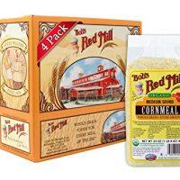 Bob's Red Mill Organic Medium Grind Cornmeal, 24 Oz (4 Pack)