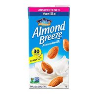 Almond Breeze Dairy Free Almondmilk, Unsweetened Vanilla, 64 Ounce
