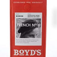 Boyd's French No. 6 Coffee - Ground Dark Roast - 12-Oz Bag