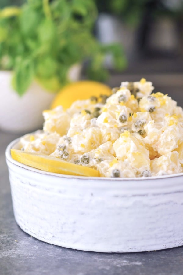 Lemon Piccata Potato Salad