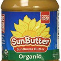 SunButter Organic Sunflower Seed Spread, 16-Ounce Plastic Jar