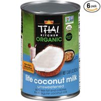 Organic Lite Coconut Milk, 13 fl oz (Pack of 6)