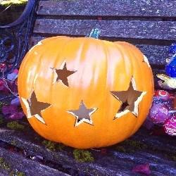 Starlight Pumpkin Carving