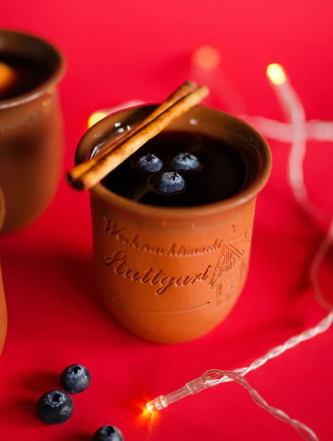 Blueberry Glühwein Recipe