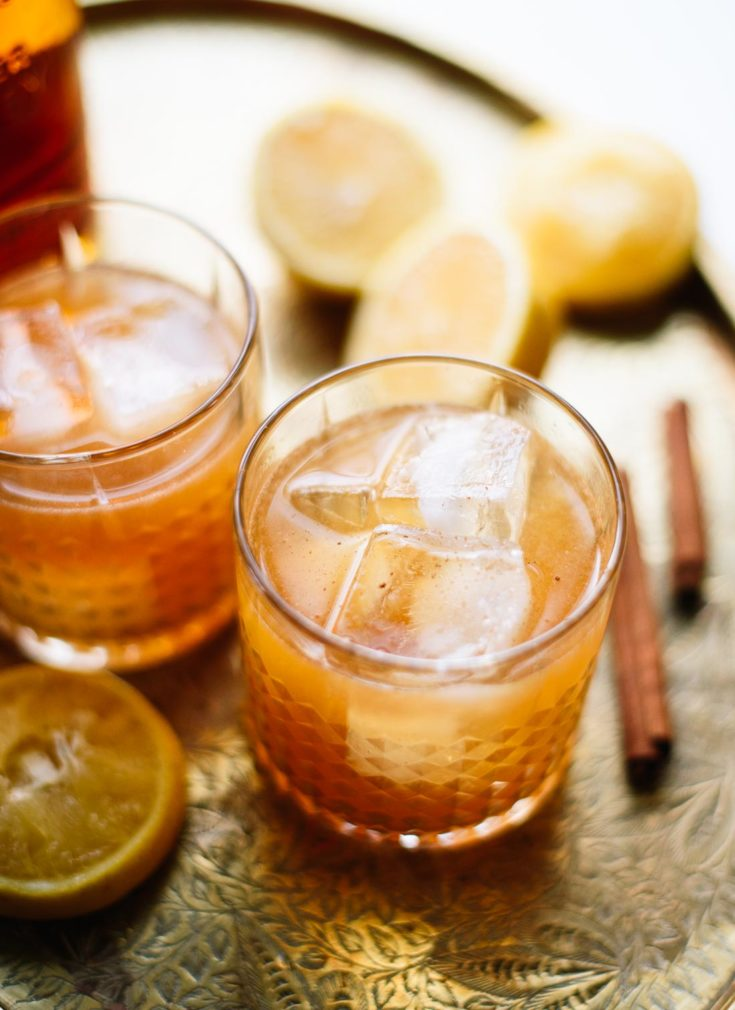 Cinnamon Maple Whiskey Sour Recipe