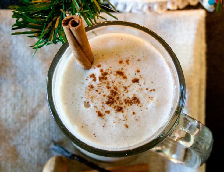 Rich and Creamy Vegan Nog
